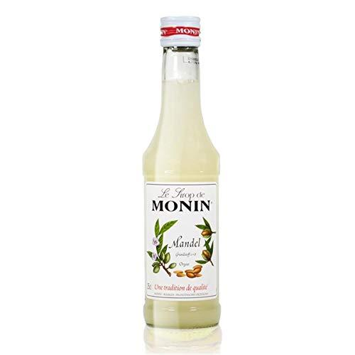 Monin Sirop Orgeat, 250 ml Bouteille