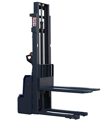 Elektrischer Hochhubwagen Elektro-Stapler 2,5m / 2500 mm Hubhöhe - 1 t / 1000 kg Tragkraft für Europaletten