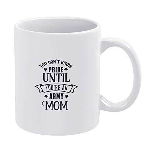 You Don't Know Pride Until You're AnMom-01 - Taza de té divertida de 315 ml para mujer, regalo divertido para mujeres o hombres