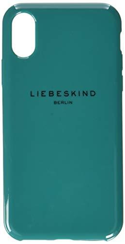 Liebeskind Berlin Damen Bumpixh8 Rubber Handyhülle, Grün (Alpine Green), 1x15x8 cm