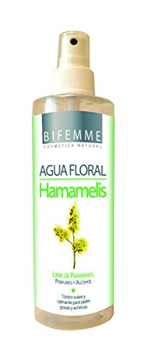 Bifemme Agua Floral Hamamelis Libre de Parabienes, Perfumes y Alcohol - 250 ml