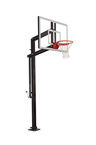goaliath basketball hoops Goalsetter Systems X454 In-Ground Basketball Hoop with 54 Inch Backboard