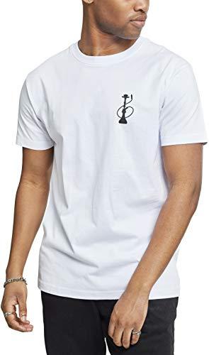 Mister Tee Herren Hookah Everyday Tee T-Shirt, White, XS