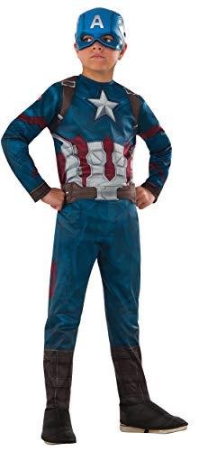 Rubie's Costume Captain America: Civil War Value Captain America Costume, Small