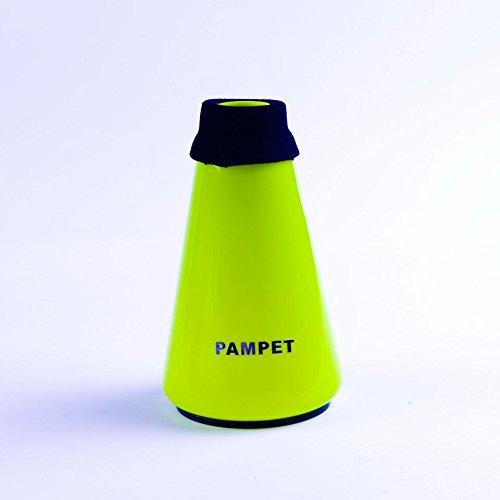 Pampet Lichtgewicht Praktijk Trompet Mute Silencer, Trompet Rechte Mute Groen