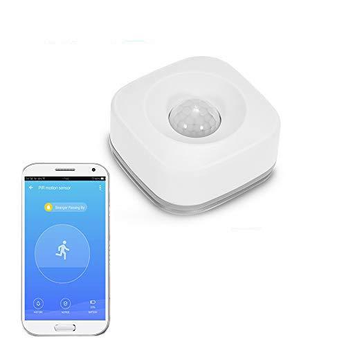 Sensor de movimiento PIR WIFI Detector de infrarrojos pasivos inalámbrico Sensor de alarma antirrobo Tuya App Control Smart Home