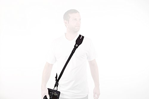 Custom SLR Glide One Strap Camera Strap System with Black C-Loop - Gliding Camera Strap with...