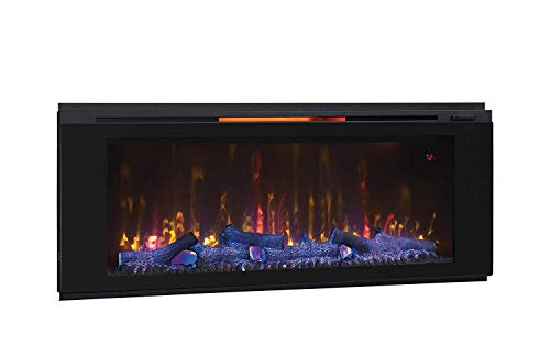 Classic Flame 48HF320FGT Helen 48', Black Wall Mounted Electric Fireplace,
