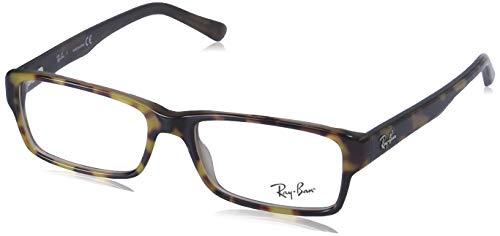 Ray-Ban RX5169 Gafas de lectura, Havana, 52 Unisex Adulto