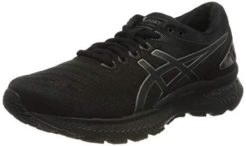 ASICS Damen Gel-Nimbus 22 Running Shoe, Schwarz Schwarz, 39.5 EU