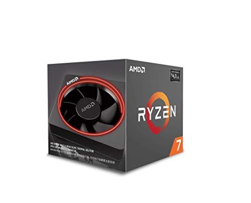 AMD Ryzen ™ 7 2700 MAX, AM4, Zen +, 8 cœurs, 16 fils, 3,2 GHz, 4,1 GHz Turbo, 20 Mo de cache, 65 W, CPU, Box + Wraith MAX Cooler