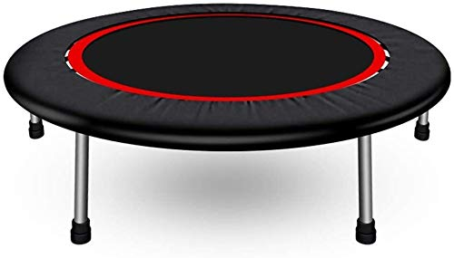 KYLL Fitness-Trampolin mit Sicherheitspolster, Indoor/Outdoor Mini-Runde Trampolin, Sport Trampolin for Erwachsene Kinder (Size : 136cm)