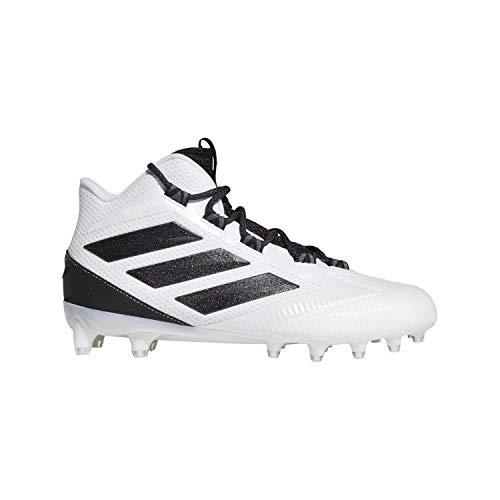 adidas Freak Carbon Mis Weiß/Schwarz Fußballschuhe (EG1312), Weiá (White-core Schwarz-Grau), 4