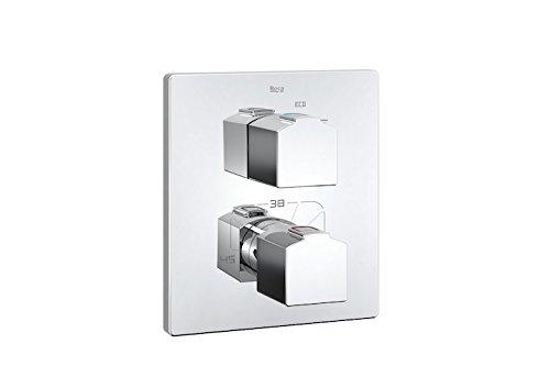 Roca L90 - grifo termostático empotrable para baño o ducha.a completar con...