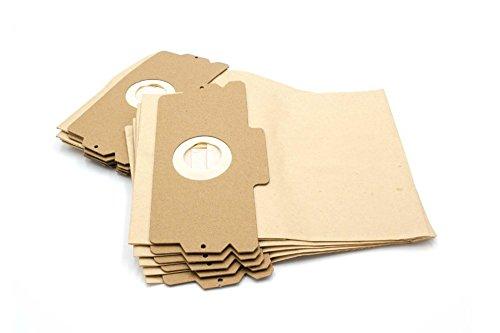 vhbw 10 Papier Staubsaugerbeutel Filtertüten Gr. 12/15 kompatibel mit AEG Electrolux Staubsauger Vampyr 500 600 1100 2000 5000 6000 Serie und Comfort 1100E