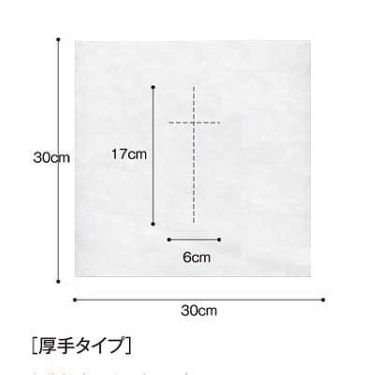 カリキュラム殺します挑発する(ロータス)LOTUS 日本製 ピロカバー DX 十字カット 100枚入 業務用 マッサージ 、エステ 厚みのあるタイプ
