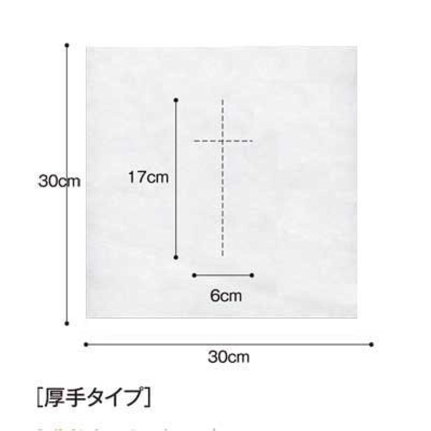 ボーナス遵守するソブリケット(ロータス)LOTUS 日本製 ピロカバー DX 十字カット 100枚入 業務用 マッサージ 、エステ 厚みのあるタイプ