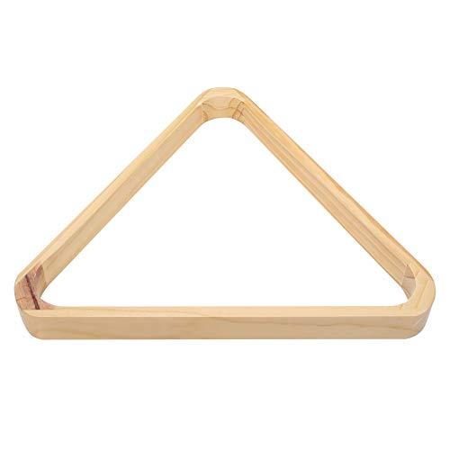 iFCOW Snooker-Ballständer aus Holz, professionelles Billiard, dreieckiger Rhombus-Rahmen, Snooker-Ball-Rack, Sportzubehör