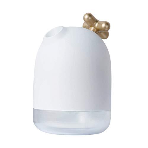 LIOOBO USB Luftbefeuchter Mini Atomizer Home AiUSB Luftbefeuchter Mini Atomizer Home Luftbefeuchter Dampfer mit Nachtlichtfunktion (Gold) r Luftbefeuchter Dampfer mit Nachtlichtfunktion (Gelb)