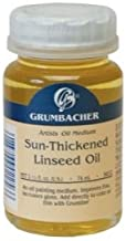 6 Pack SUN-THICKENED LINSEED OIL 74ml Drafting, Engineering, Art (General Catalog)