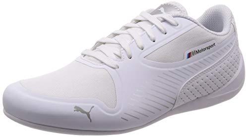 Puma BMW MMS DRIFT CAT 7 ULTRA, Unisex Sneaker, Weiß (PUMA WHITE-PUMA SILVER 02), 45 EU (10.5 UK)
