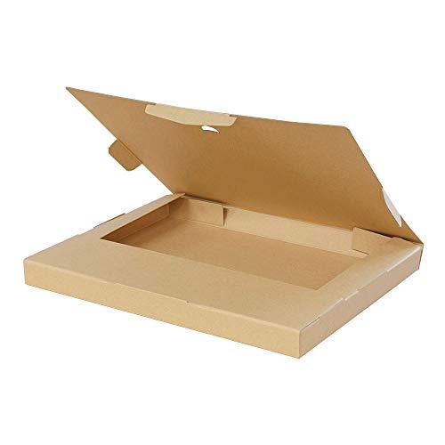 ボックスバンク クリックポスト・ゆうパケット用 ダンボール箱 A4【320×240×28mm】50枚セット FY08-0050
