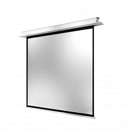 Release Pantalla de proyección/proyector eléctrica/motorizada Inteligente de Montaje en Techo 16: 9 con Control Remoto para proyector doméstico (Size : 106 Inch)