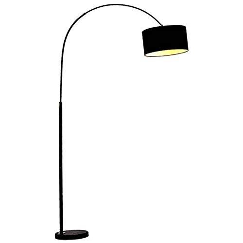 Studielamp tafellamp, vislamp tuinlamp verlichting vierkant verticale buitenlamp type-Zwart‖ 5WLED wit licht