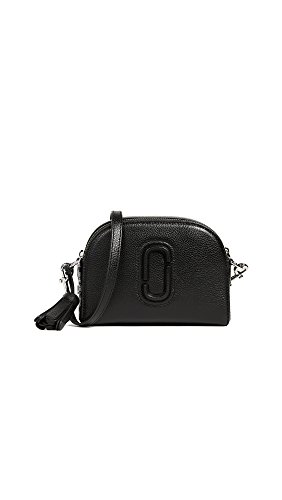 Marc jacobs small shutter camera bag in 100 percent leather with zipper closure