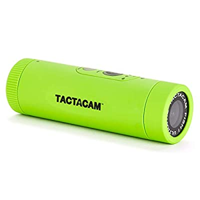 TACTACAM Fish-i Wide Lens Fishing Action Camera - Includes Head Mount and Universal Mount Adapter from TACTACAM