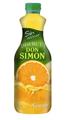 Zumo de Naranja Pet sin Azúcar Don Simón - 1,5 Lt - 6 Und