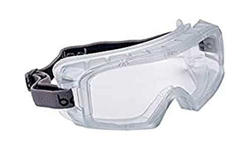 "Bollé coverSi talla única""mono"" sellada gafas de seguridad–transparente/negro"