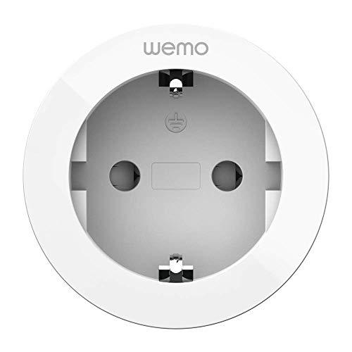 Wemo Smart Plug (Zwischenstecker, Funksteckdose für Smart Home, Lampen und Geräte auf Abstand steuern, geeignet für Apple HomeKit) WLAN-Smart Plug