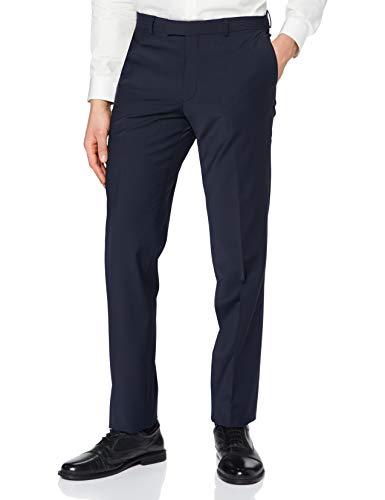 Pierre Cardin Anzughose Futureflex Dupont Pantalones de Traje, Azul, 3 Mes para Hombre