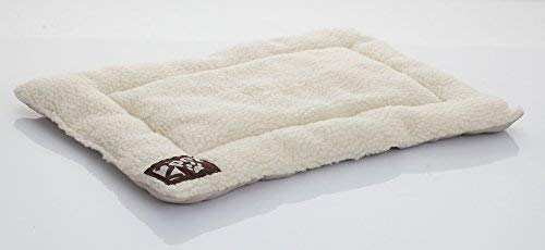 2PET Crate Pad Comfy Cushion Ultra Soft Breathable Crate Mat - Machine Washable and Safe Bed for Dogs, Cats - Lightweight Nap Pad for Dog Kennels and Pet Carriers - 20