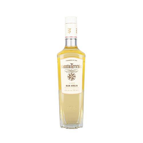 Premium Weißer Rum aus Venezuela, SANTA TERESA Claro, 40{63c473e3701d20cb4c75e20f5a4f90507e963fd125871ac4b6c6846f9fb12acc} vol, 700ml Flasche 700ml.