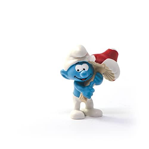SCHLEICH 20819 Schlumpf mit Glückspilz The Smurfs