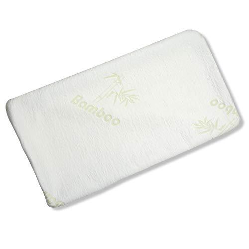 aqua-textil Torrent Viscokissen Bezug 70x36x15 cm Bamboo Kissenbezug Nackenkissen Hülle