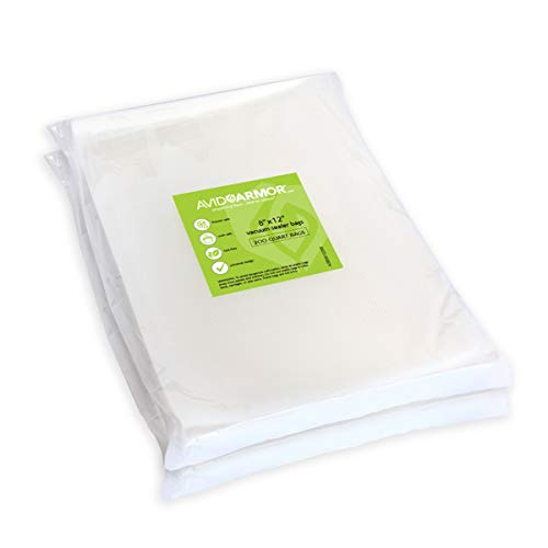 For Sale! 200 Quart Vacuum Sealer Storage Bags Size 8 x 12 Inch for Food Saver, Seal a Meal Vac Seal...
