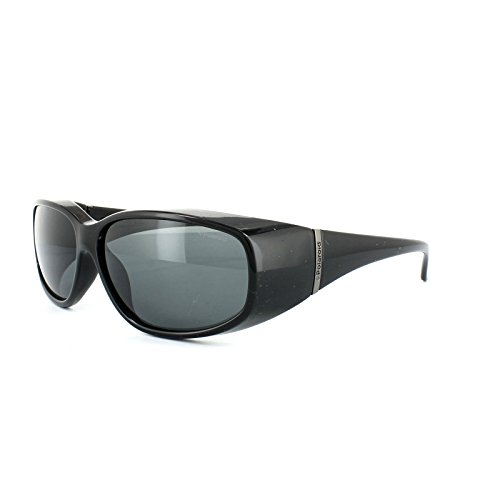 Polaroid Suncovers Fitover Sunglasses P0139 KIH Y2 Black Grey Polarized