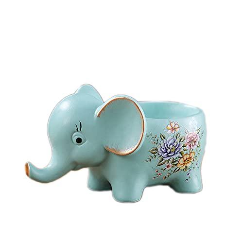 FA.cbj3 Regalo de elefante, decoración para salón, caja de almacenamiento de elefante, decoración de baño, joyero, regalo para mujeres, regalo de cumpleaños para mujeres, para el Día de la Madre