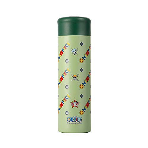 B/H Thermos Keeps Beverages Hot or Cold,330ml vacuum flask, student stainless steel water cup-green,Stainless Steel Thermo Flask