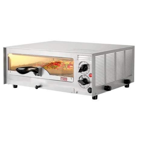 Biaggia 12 in Silver Premium Deluxe Pizza & Snack Oven w/Baking Sheet