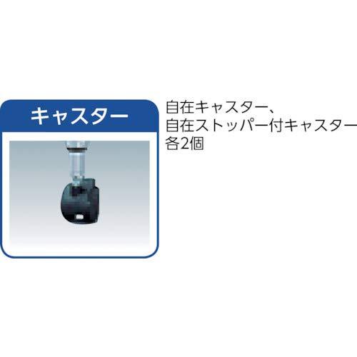 アイリスオーヤマ『メタルラックキャスター付』