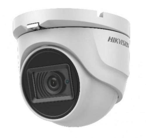 Hikvision Cámara torreta exterior de 8 MP (4K) con lente IR inteligente de 2,8 mm (DS-2CE76U1T-ITMF)