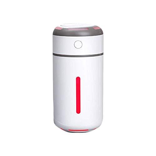 Alysays Mini humidificador de Aire Pequeño hogar Oficina de Oficina Aire Acondicionado Coche Coche de Gran Capacidad Spray Mute Humidificador humidificador (Color: Amarillo) (Color : White)
