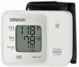 Omron Blood Pressure Monitor (Wrist Type) HEM-6121- Home Blood Pressure Monitor for Upper Arm- Instant Readings]