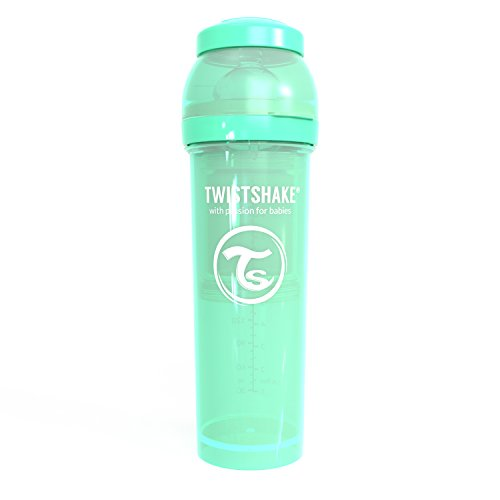 Twistshake 78263 - Biberón, color pastel verde