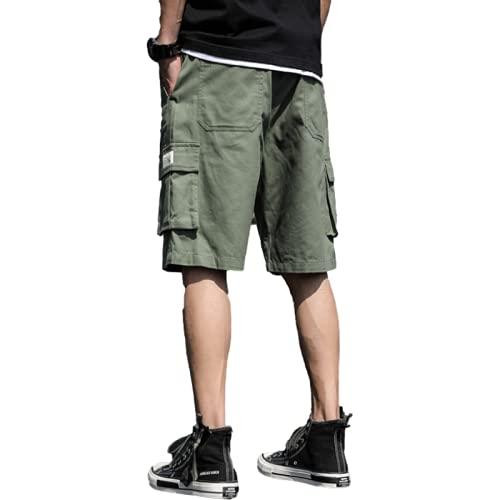 Jubaton Pantalones Cortos de Entrenamiento de Gimnasio para Hombres, Pantalones Cortos Deportivos Ligeros para Ejercicios Deportivos, Culturismo, con Bolsillos XL