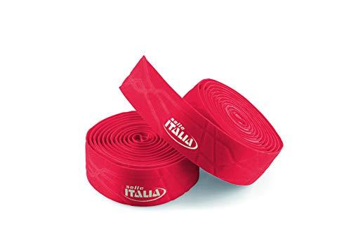 Selle Italia Unisex– Erwachsene Lenkerband Smootape Gran Fondo Gel, 2.5 mm, Rot, unisize